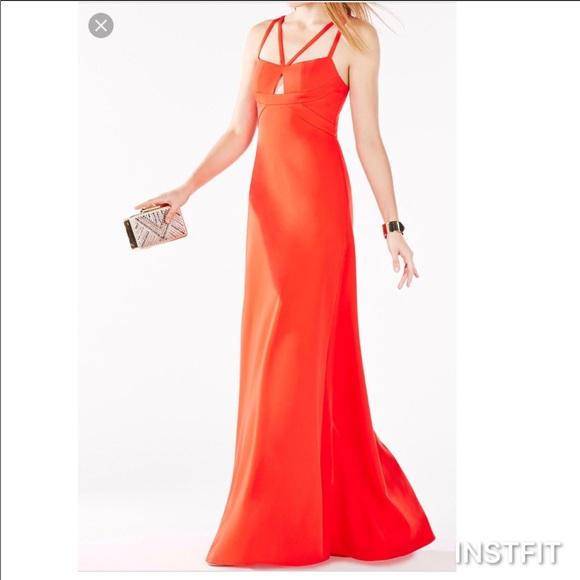 BCBGMaxAzria Dresses | Bcbg Max Azria Red Prom Dress | Poshmark